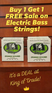 Buy 1, Get 1 FREE - Electric Bass Strings - King of Trade