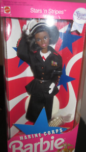 1991 Marine Corps African American Barbie (Special Edition)