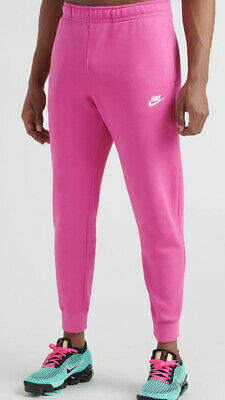 Nike Sportswear Club Fleece Jogger Men's Pants BV2671-623 PINK sz S-2XL