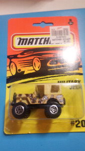 Vintage Matchbox Military Jeep
