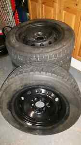 245 70 17 studded winter tires and rims f150