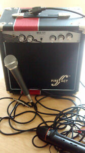 Practice Amp, Microphone / Speaker for Mp3