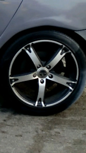 Rims and tires  17 inch