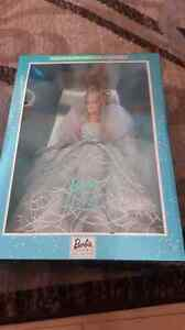2001 barbie collectors edition with COA