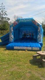 2016 Frozen Bouncy castle for sale - Excellent condition