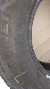 245/70/17 --- Like new! --- $380.00 winter tires