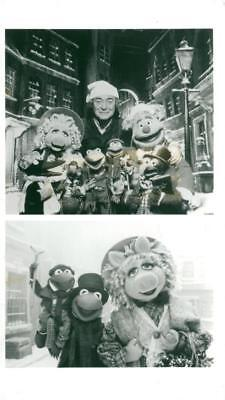 Cartoon Characters: The Muppet Christmas Carol - Vintage photo