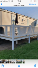 Caravan for rent at Whitley bay