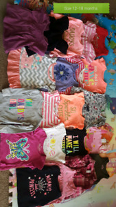 Girls summer clothes size 12-18 months