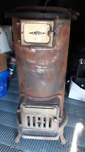 Empire wood burning or coal stove