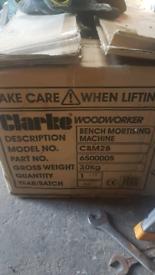 clarke bench mortising machine. brandnew!