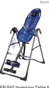 Wanted Inversion Table