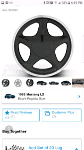 """Looking for 17"""" 4 lug mustang rims!!"""
