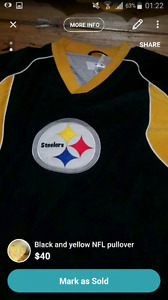 Pittsburg Steelers NFL clothing for SALE!