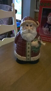 $10.00 New Santa Cookie Jar Windsor Region Ontario image 1