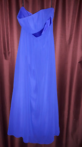 Lovely blue formal gown