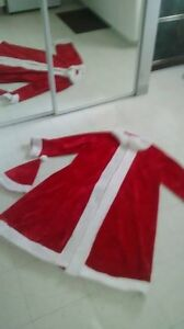 Large Santa Coat n Hat plus, moustache kits  Need Gone Today
