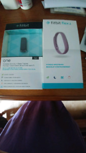 Fitbit Flex 2 and Fitbit One