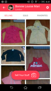 SELLING CLOTHES!