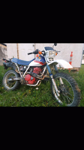 1987 Honda XL600R with papers