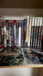 PS3, PS4, Wii, Xbox 360 Games