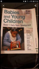 Children in Early Years development book