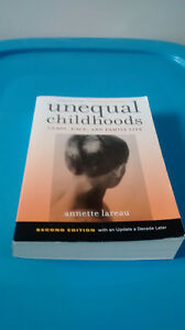 Textbook: Unequal Childhoods 2nd Ed. by Annette Lareau