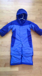 LL Bean Grow with me Snowsuit 2t