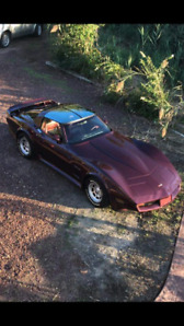 "Corvette Stingray 1982 ""Collector Edition"" crossfire injection"