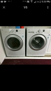 """27"""" lg Tromm washer electric dryer 3 yrs old/can deliver"""