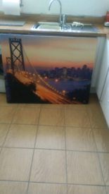 TOW LARGE NEWYORK CANVASES
