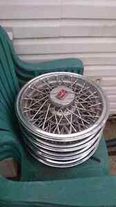 "14""cutlass spoke hubcaps and rims"