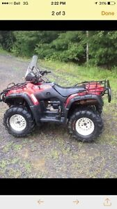 Used 2001 Honda 500 rubicon