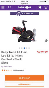6 Months old car seat