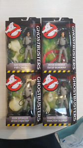 GHOSTBUSTERS CLASSIC MATTEL FIGURES SET OF 4