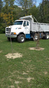 1999 ford sterling triaxle dumptruck