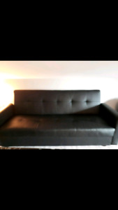 Black Couches