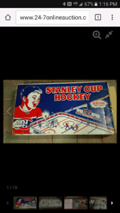 Vintage Stanley Cup Eagle Rod Tabletop Hockey Game NHL Mint
