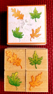 Rubber Stamp set called Fall Leaves