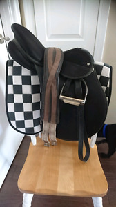 Three English Saddle Packages