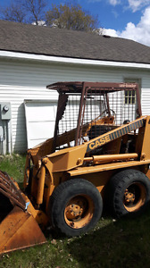 $10000 for a 1985 case skidsteer