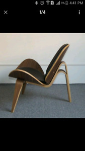 Chaise moderne Hans wagner