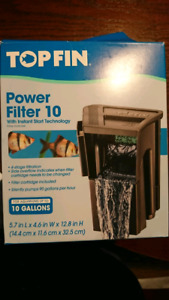 Fish filter for sale for 5.5 gallon tank