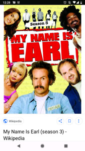 Wanted: my name is Earl dvd collection