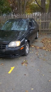2004 Hyundai Accent Coupe (2 door)