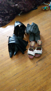 Boots and Sandals For Sale