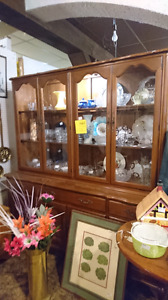 Antique Gibbard China cabinet SALE price right now