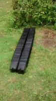 100-    6 inch square by 7 inch tall Nursery pots, used once