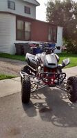 trx 450 , with cr 250r motor in it.