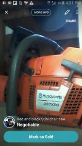 Husqvarna 357 xpg chain saw